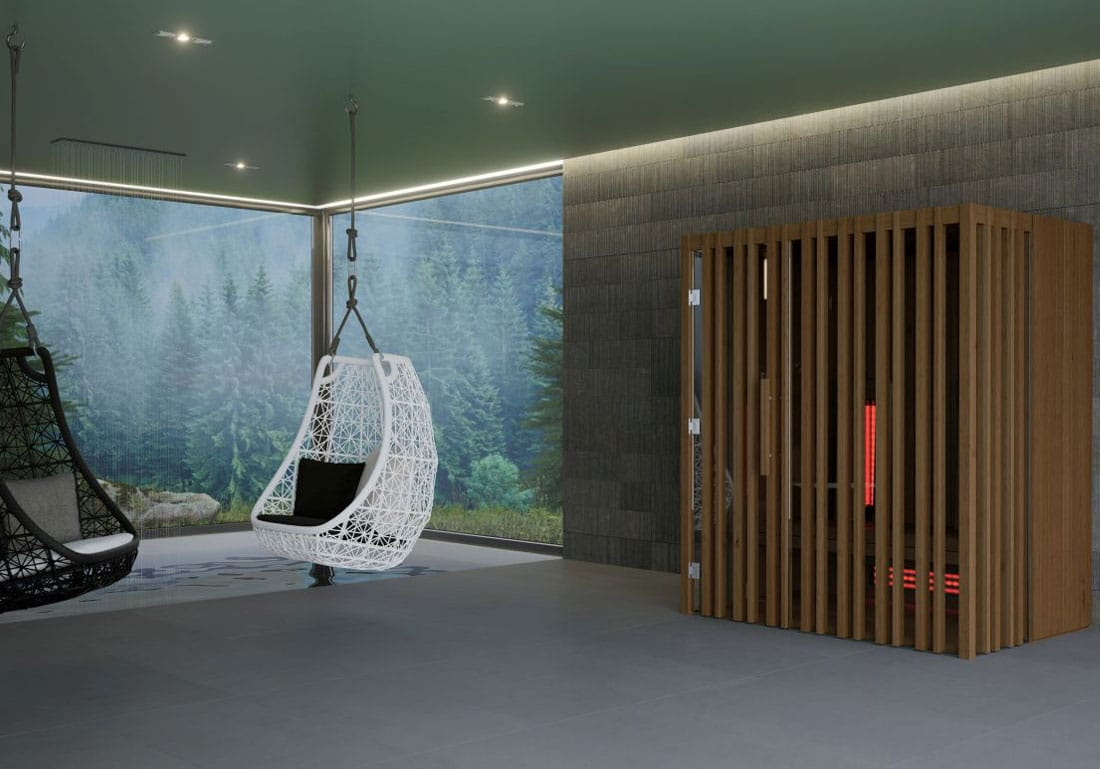Achat Installation Sauna Infrarouge Bois Suisse
