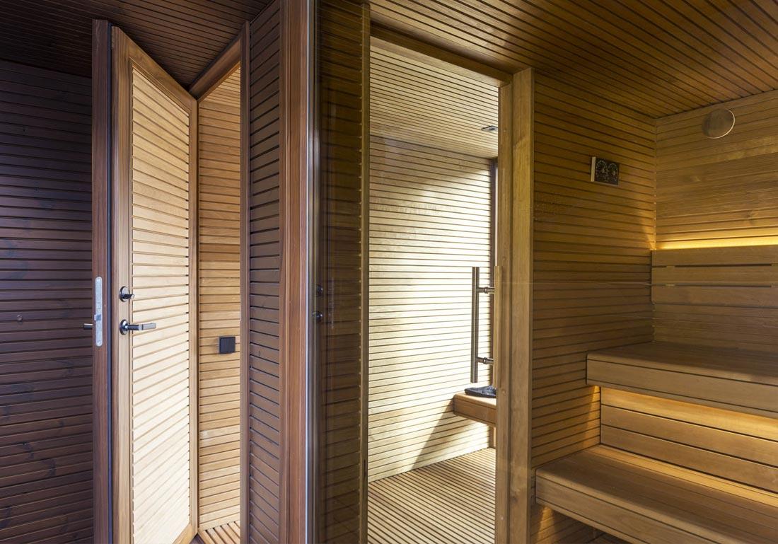 Achat Sauna Luxe Exterieur Bois Suisse