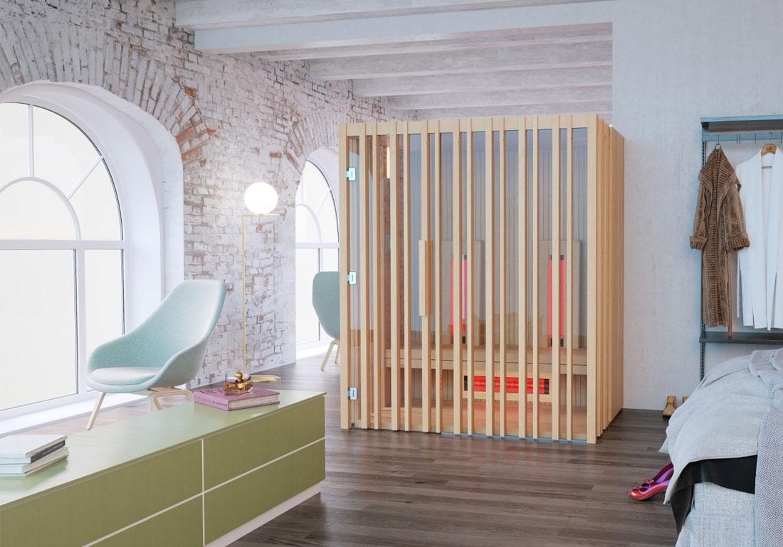 Sauna Infrarouge Bois Vaud Gex Suisse Achat