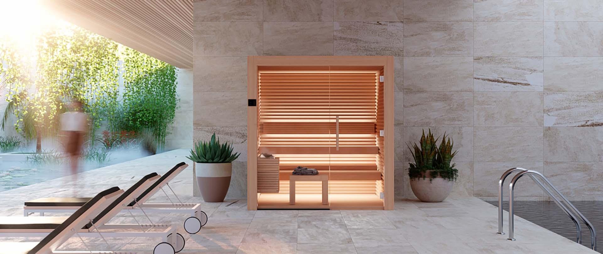 Sauna Interieur Bois Design Nativa Auroom Geneve Lausanne