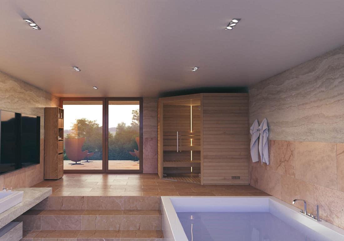 Vente Installation Sauna Traditionnel Bois Suisse