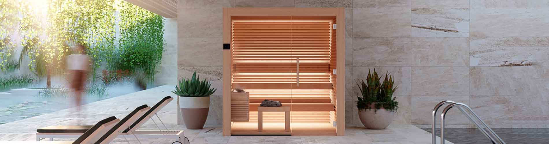 Sauna Interieur Bois Design Nativa Alpes Geneve