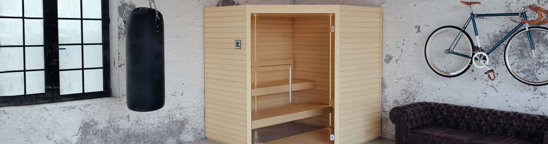 Sauna Interieur Bois Traditionnel Varia Auroom Geneve