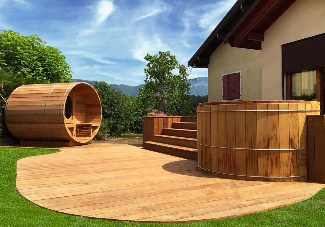 Acheter Sauna Exterieur Bois Suisse Vaud