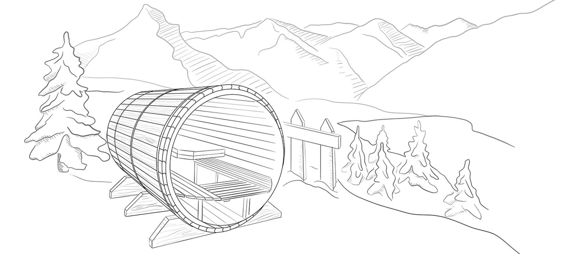 Sauna Bulle Conception Achat Alpes Valais