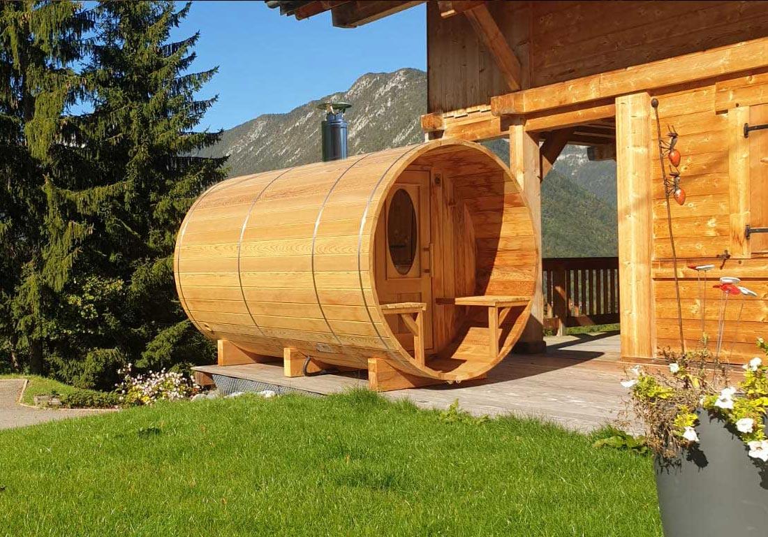 Sauna Exterieur Tonneau Bois Geneve Lausanne